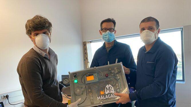 nuevos respiradores Málaga Respira 3