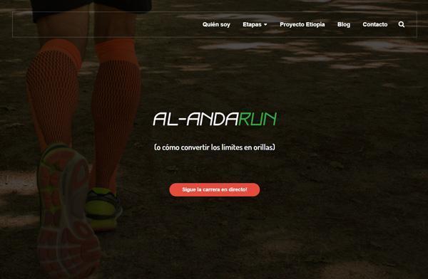 CIRCULINA PIERNAS LIGERAS con el deporte: Patrocinio de Al-AndaRun