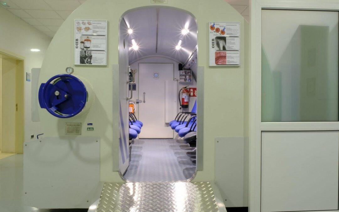 Medicina Hiperbárica: Mejora la respuesta de tumores de difícil tratamiento a la Radioterapia. Cámara hiperbárica Málaga